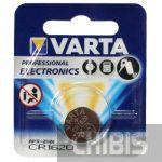 Батарейка cr 1620 Varta Professional Electronics (70mAh, 3V, Литиевая) 06620101401