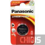 Батарейка 2430 Panasonic 3V Литиевая 1 шт.
