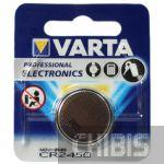 Батарейка 2450 Varta 3 В Литиевая 1 шт.