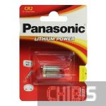 Батарейка CR2 Panasonic Lithium 3V блистер 1 шт.