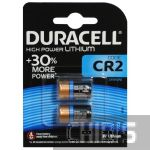 Батарейка CR2 Duracell Ultra 3V Lithium 1/2 шт.