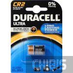 Батарейка Duracell CR2 Ultra (3V, Lithium, Литиевая) 1/1 шт.