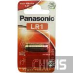 Батарейка LR1 Panasonic 1.5 V Alkaline LR1L/1BE