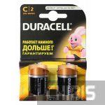 Батарейка LR14 Duracell Basic C 1.5V Alkaline блистер 1/2 шт.