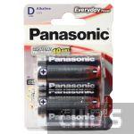Батарейка LR20 Panasonic Everyday Power D 1.5V Alkaline блистер 2/2 шт.
