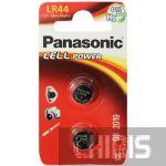 Батарейка LR44 Panasonic Alkaline 1.5V 2/2 шт.