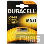 Батарейка MN 21 Duracell 12V Alkaline  Щелочная 1 шт.