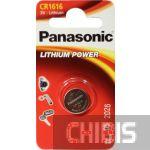 Батарейка CR 1616 Panasonic Литиевая 3V CR-1616EL/1B