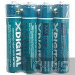 Батарейка R3 X-Digital Longlife Tray zinc-chloride 1.5V 4 шт. пленка