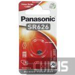 Батарейка SR626 Panasonic 1.55V Silver Oxide 1 шт.