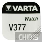 Батарейка Varta V377 (SR66,SR 626 27mAh, 1.5V, Оксид Серебра) 00377101111