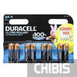 Батарейка АА Duracell Ultra Power LR06 1.5V Alkaline 8/8 шт.