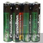 Батарейка ААА Camelion LR03 1.5V марганцево-цинковая 1/4 шт.