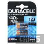 Батарейка CR123 Duracell High Power Lithium 3V 2/2 шт.