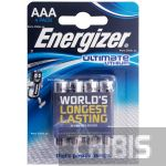 Батарейки Energizer Ultimate Lithium AAA 1.5V 4 шт