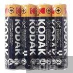 Батарейка AAA Kodak XTRALIFE LR03 4 шт. пленка