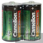 Батарейка R14 Camelion C 1.5V марганцево-цинковая пленка 1/2 шт.