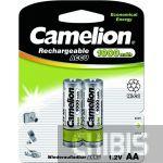Ni Cd аккумуляторные батарейки Camelion AA 1000 mAh 1/2 блистер
