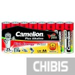 Батарейка АА Camelion Plus Alkaline 1.5V пленка 1/8 шт.