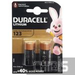 Батарейка CR123 Duracell High Power Lithium 3V 2 шт.