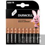 Duracell AAA Basic LR03 1.5V Alkaline 18 шт.
