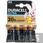 Батарейки Duracell AA Ultra MX1500 1.5v 4 шт