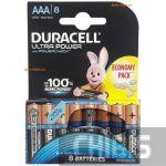 Duracell Ultra Power AAA LR03 1.5V Alkaline 8 шт.