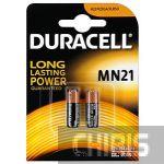 Батарейка MN21 Duracell 12V Alkaline 1/2 шт.