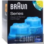 Картридж Braun CCR2 Clean Renew с чистящей жидкостью 4210201637738