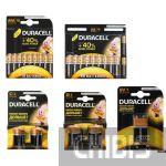 Батарейки Дюрасел Basic 1.5V AA / AAA / LR14 / LR20 и 9V комплект