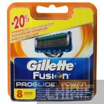 Кассеты Gillette Fusion ProGlide Power для станка 8 шт.