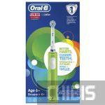 Электрическая щетка Oral B Junior D16.513.1 (зеленая)