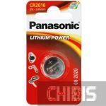 Батарейка Panasonic CR-2016EL/1B 1/1 шт