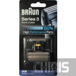 Сетка Braun 30B и режущий блок 7000 / 4000 / Series 3 / SmartControl / SyncroPro / TriControl черная