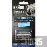 Сетка Braun 32B серии Series 3 черный блок с сеткой и ножом