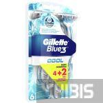 Gillette Blue 3 Cool станок одноразовый 6 шт.
