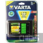 Зарядное устройство АА ААА Varta LCD SMART Charger 57674101441