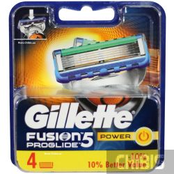 Кассеты Gillette Fusion ProGlide Power для станка 4 шт.