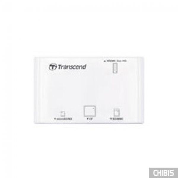 Кардридер Transcend TS-RDP8W (white) USB 2.0 белый