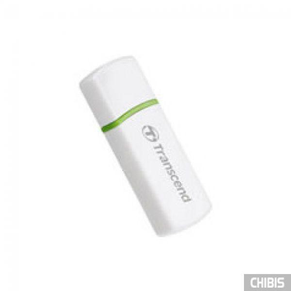 Кардридер Transcned TS-RDP5W (white) USB 2.0 SDHC/ MMC4+MiroSDHC/ M2 белый