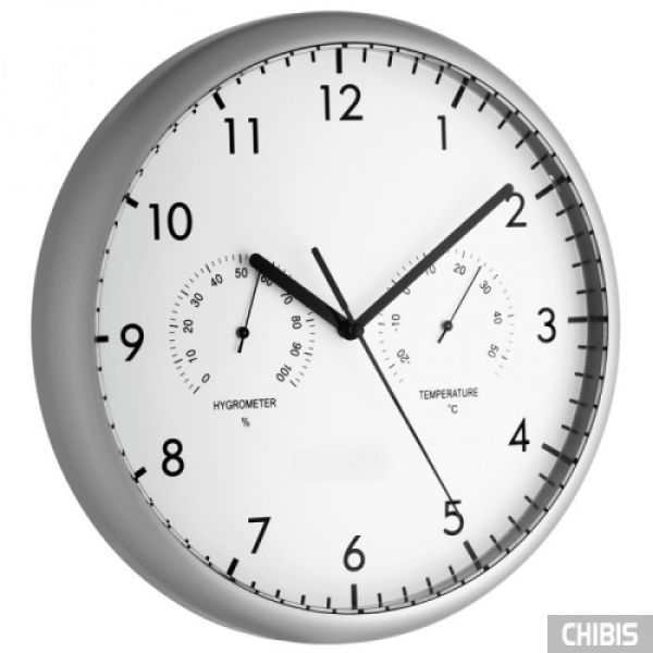 Часы настенные TFA (981072) с термометром и гигрометром