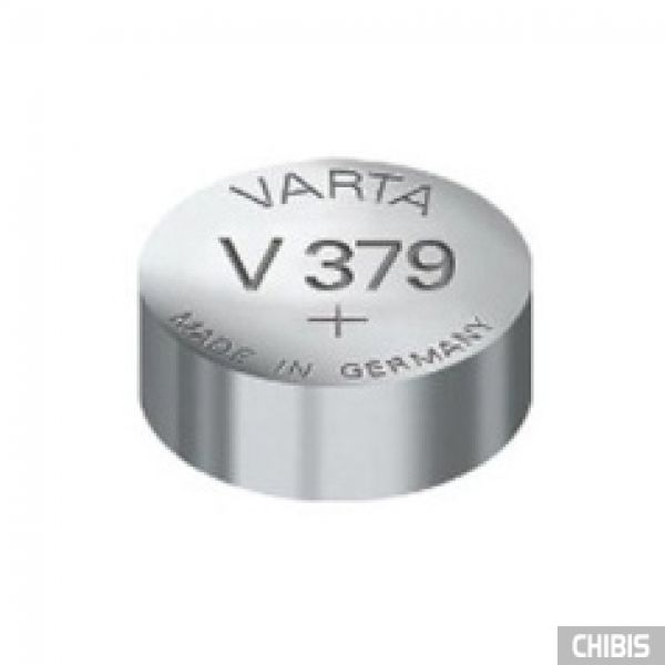 Батарейка 379 Varta SR63 1.55V Оксид Серебра 1 шт.