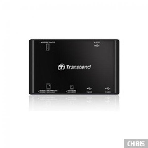Кардридер Transcend TS-RDP7K (black) USB 2.0 черный