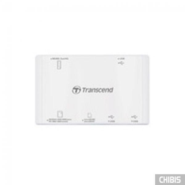 Кардридер Transcend TS-RDP7W (white) USB 2.0 белый