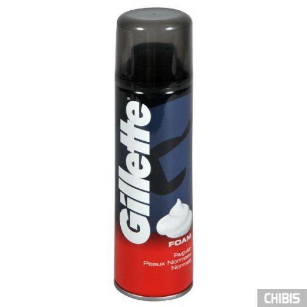 Gillette пена для бритья Regular 200 мл. (3014260228842/84857322)