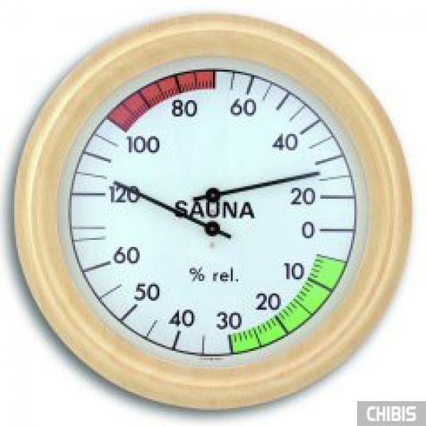 Термогигрометр TFA (401006) для сауны, дерево
