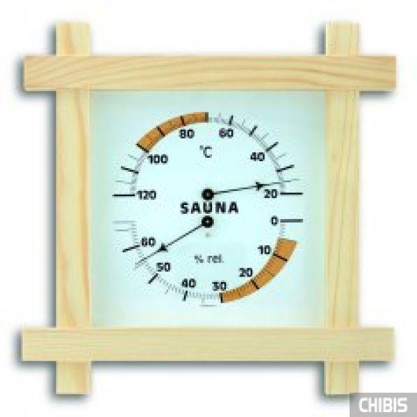 Термогигрометр TFA (401008) для сауны, дерево