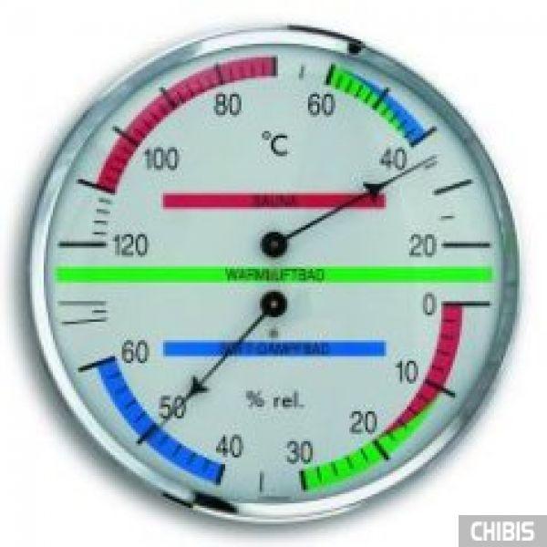 Термогигрометр TFA (401013) для сауны, пластик