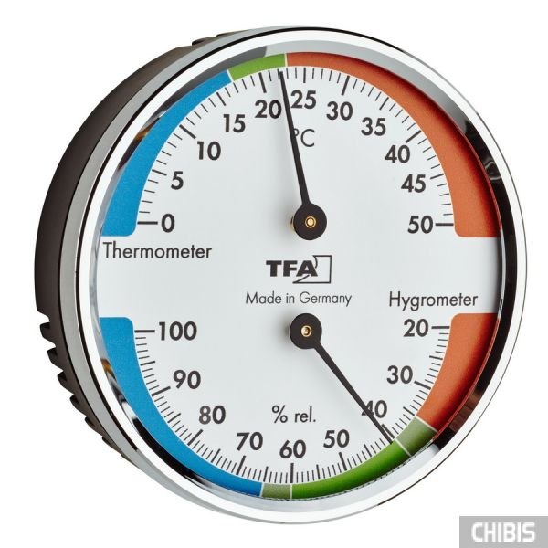 Термогигрометр TFA 45204042, цветная шкала
