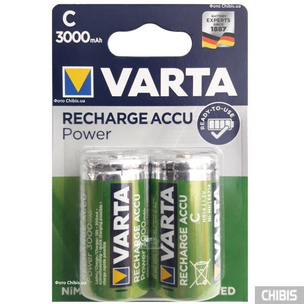 Аккумуляторные батарейки LR14 Varta 3000 mAh 2 шт.